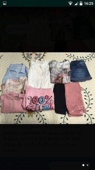 lote ropa mayoral invierno niña 3 años