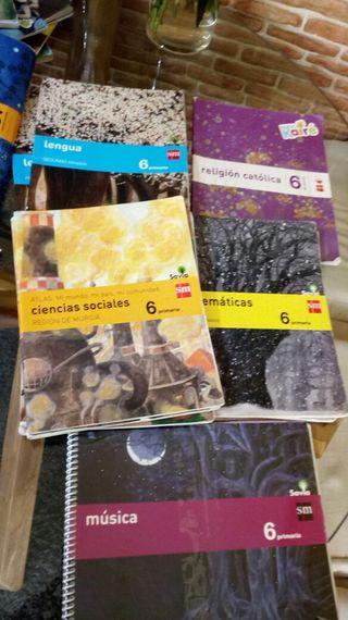 libros escolares.