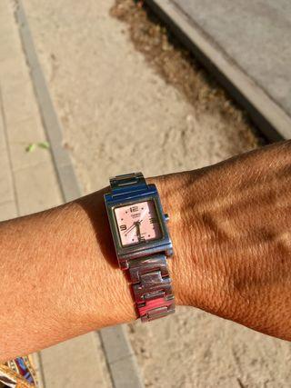 """Reloj chica rosa """"Casio"""""""