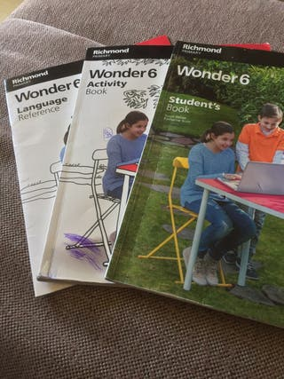 Libros Wonder 6