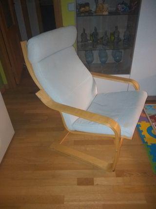 sillón lactancia