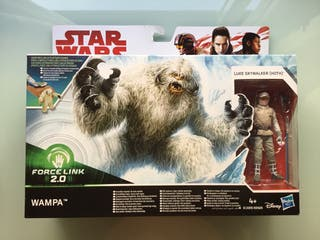 Star Wars Luke Skywalker y Wampa force link 2.0