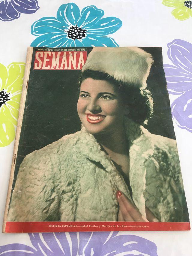 Revista semana 1951