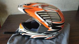 Casco moto Axo talla sx junior