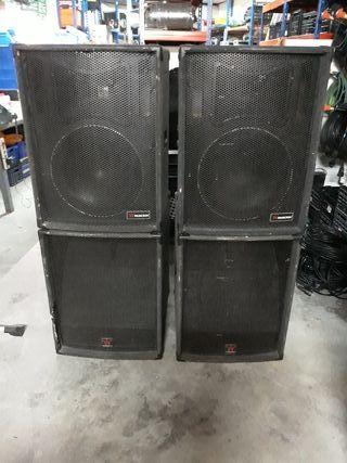 Equipo sonido estacado Musicson.