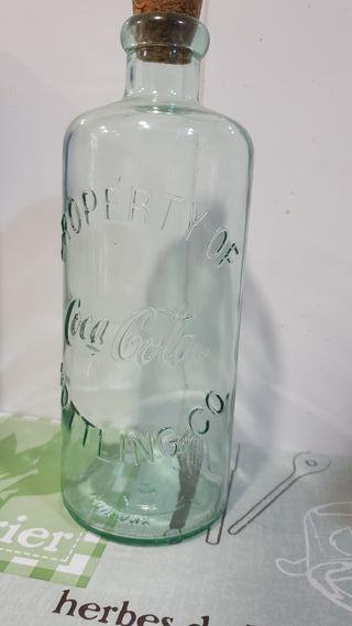 botella coca-cola antigua vintage