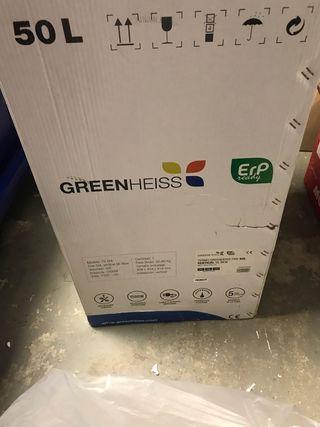 Calentador agua greenheiss