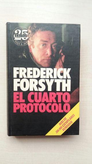 Libro El cuarto protocolo. Frederick Forsyth.
