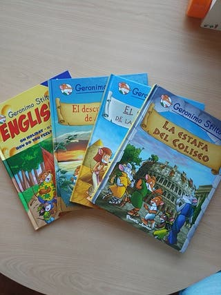 4 cómics GERÓNIMO STILTON