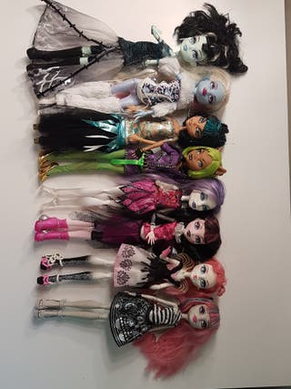 Colección de muñecas Monster High