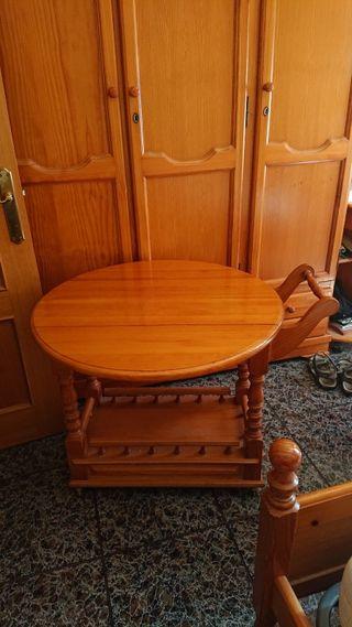 mesa auxiliar extensible