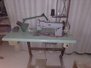 máquina de coser adler de triple arrastre