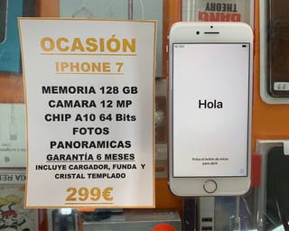 ¡OFERTA! IPHONE 7 128Gb