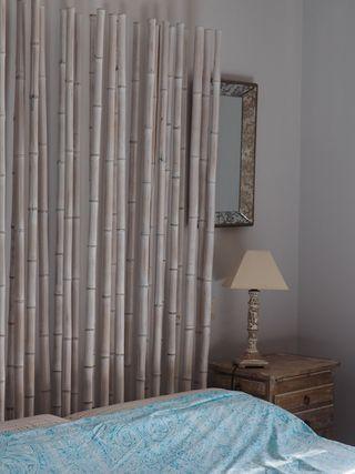 Cabecero cama bambú