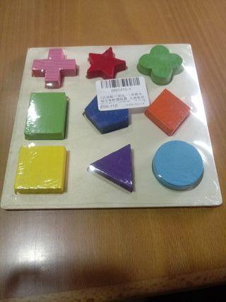 Puzzle-Formas geométricas (Montessori)