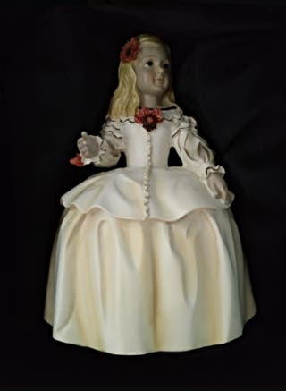 Figura Menina Infanta Margarita con caja original