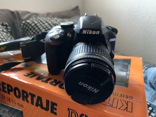 Nikon D3300 con tarjeta SD de 16GB