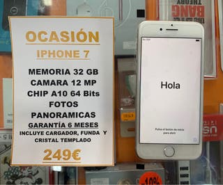 ¡OFERTA! IPHONE 7 32GB
