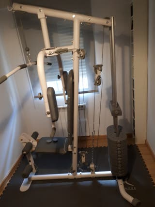 Maquina Musculación