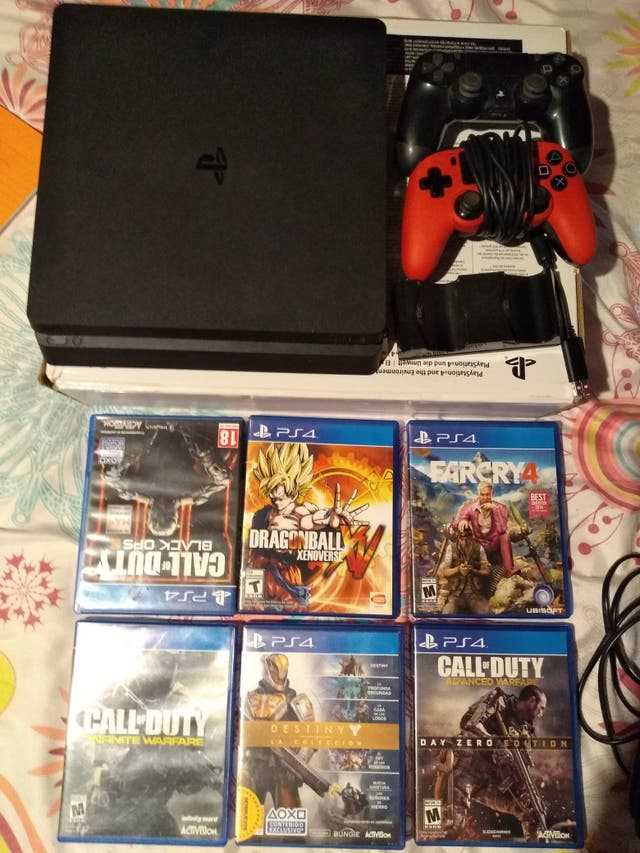 vendo play 4 Slim 1 tb