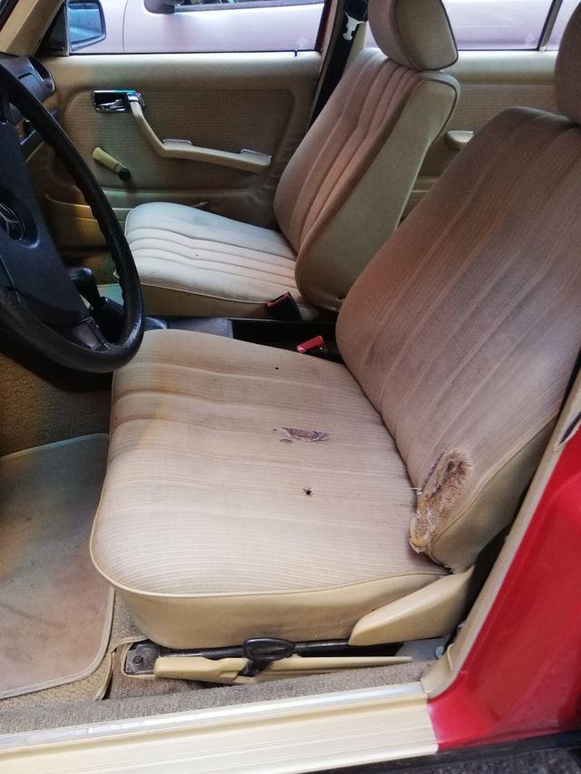 Asientos Mercedes-Benz w123