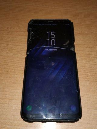 s8 plus 64 gb (pantalla quebrada)
