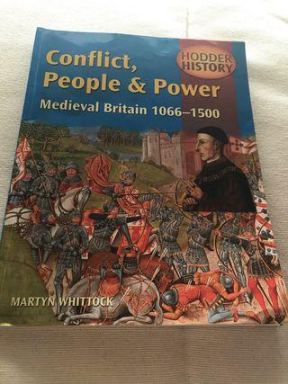 """Libro historia """"medieval britain 1066-1500"""""""