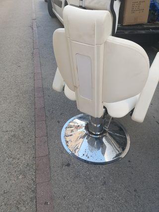 sillón vintage peluquería barbero