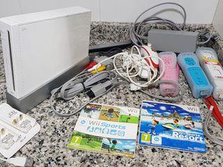 Wii + Mandos + Sports Resort + Wii Sports