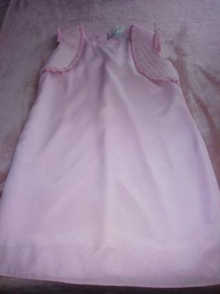 Vendo Vestido Rosa Pastel Con Etiqueta De Segunda Mano Por 6