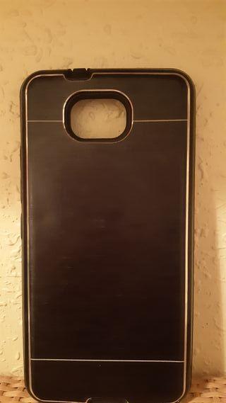 Carcasa Metalizada Doble Negro BQ Aquaris U2 Lite