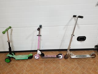 3 PATINETES-SCOOTERS