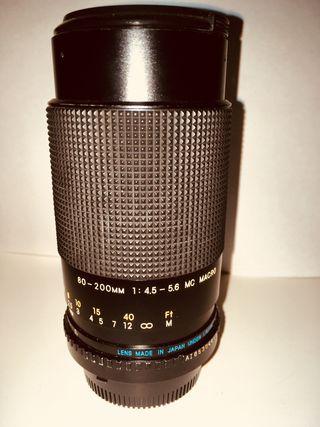 Objetivo Carl Zeiss - 80-200 - Macro - Para Nikon