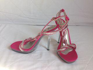 Zapatos Tacón Metacrilato nº 38.