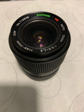 Objetivo Samyang 28-70mm Zoom