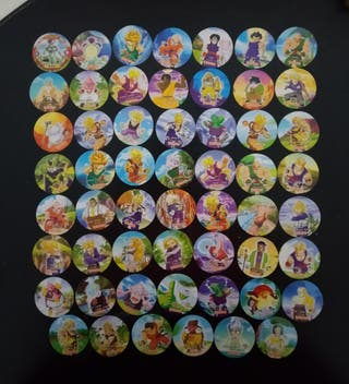 Dragon Ball Z coleccion completa tazos chinos