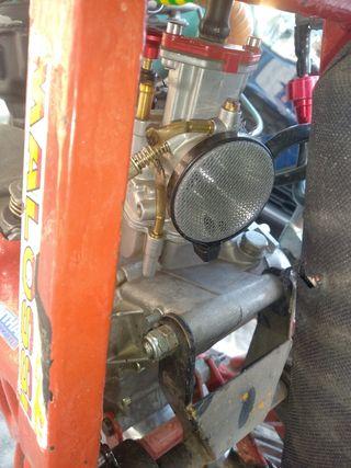 motor con top rosa recién rectificado
