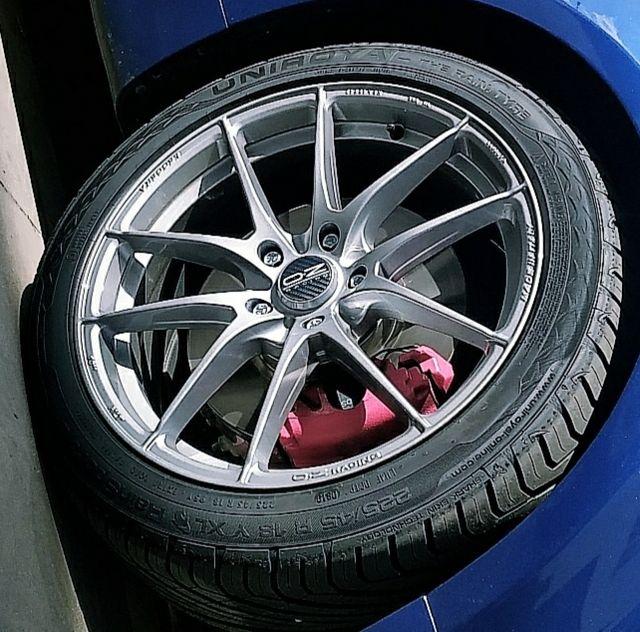 Llantas OZ leggera HLT + neumáticos