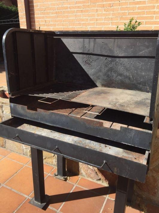 Barbacoa hierro forjado