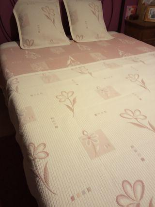 colcha para cama de matrimonio