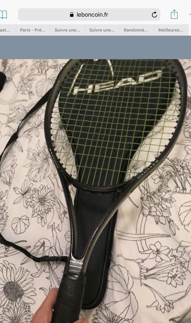 Raquette de tennis HEAD modele 660 venturis+sac