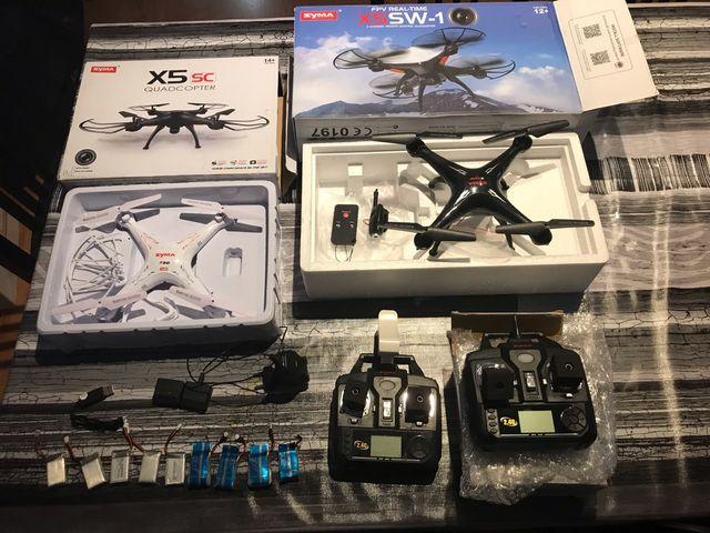 Dron X5SC quadcopter i Dron X5SW-1
