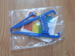 Plicómetro (medidor de grasa corporal)