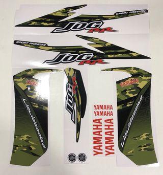 Juego pegatinas Yamaha Jog RR Camuflaje