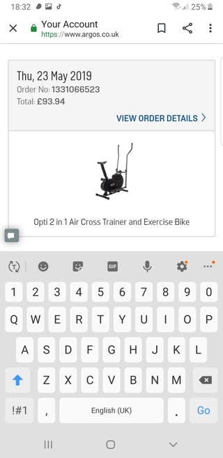opti cross trainer