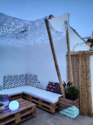Muebles Jardín Terraza Mesas y Sofas Palets EU