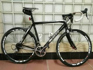 Bici carretera carbono scott cr1