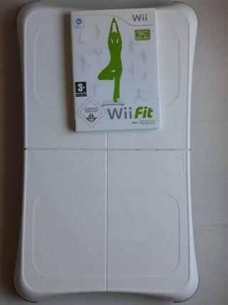 Wii (Wii Fit+Tabla Balance Board ORIGINAL NINTENDO
