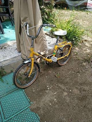 bicicleta niño antigua Orbea