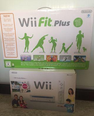 Nintendo Wii más tabla Balance Board